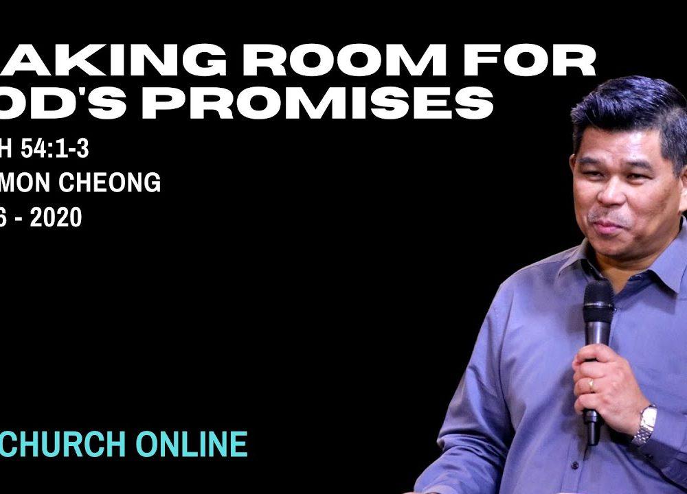 Making Room For God's Promises