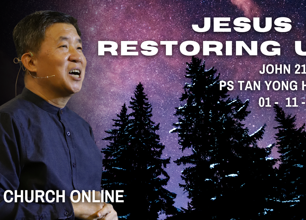 Jesus Is Restoring Us