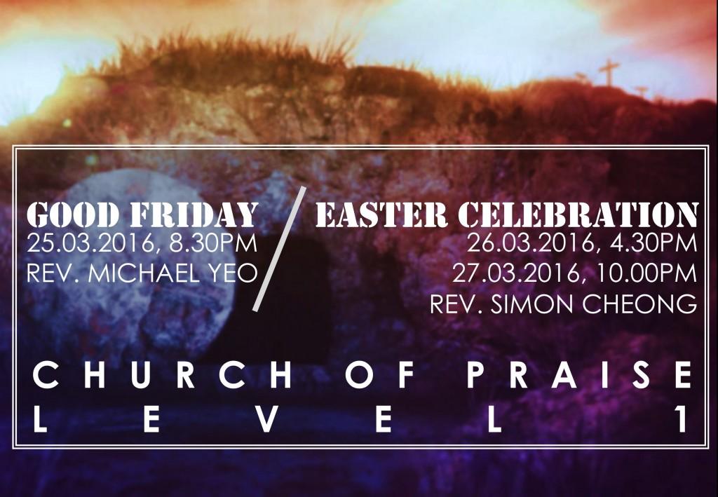 Good Friday Communion Service 2016
