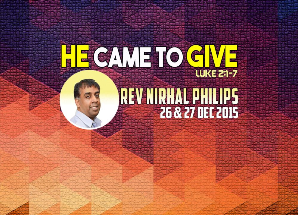 Rev Nirhal Philips