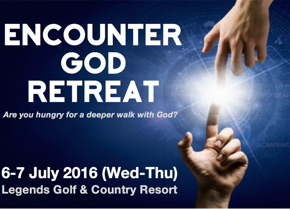 Encounter God Retreat 6-7 July 2016